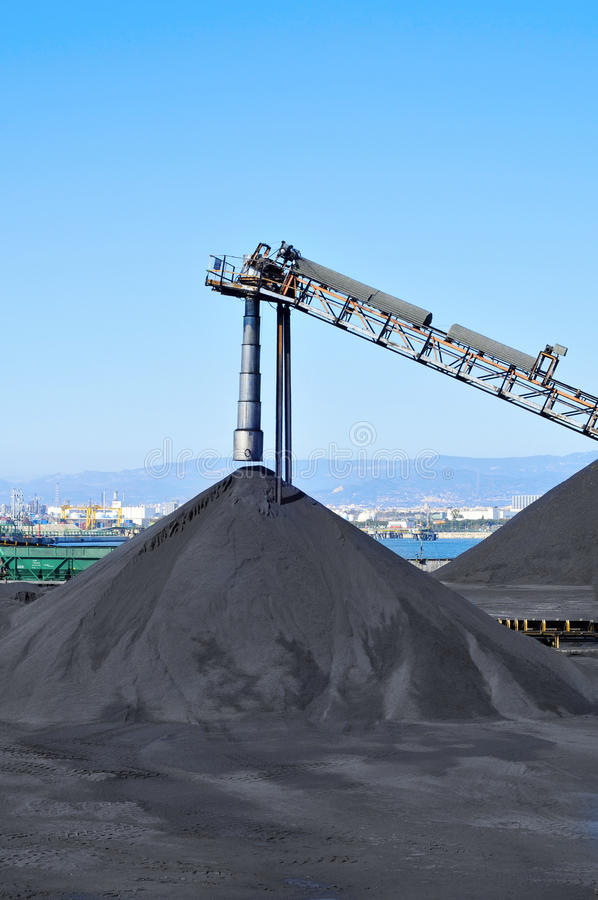 Coal industry royalty free stock photos