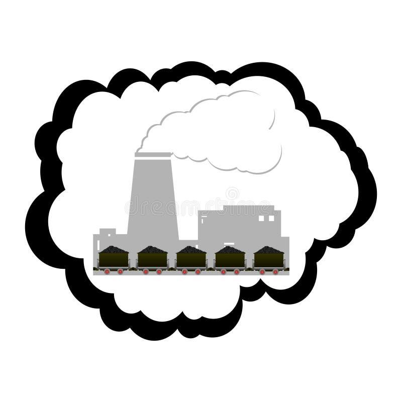 Download Coal industry stock vector. Image of framing, black, minerals - 43449170
