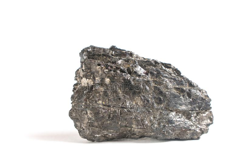 Coal. industry. mineral coal on a white background stock photography