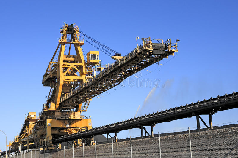 Coal Loader Stock Photo