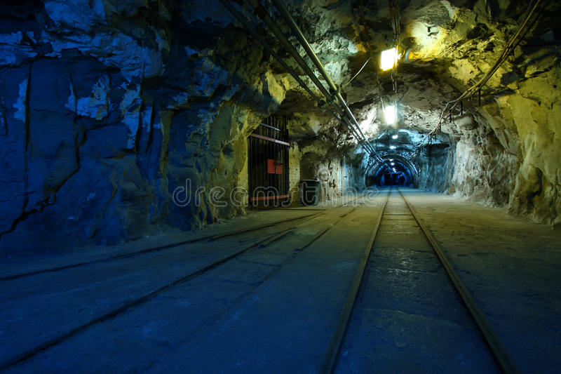 Download Coal mine stock photo. Image of hammer, industry, gallery - 16316818
