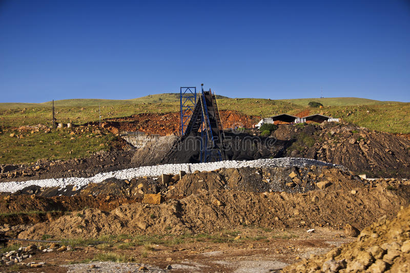 Download Coal Mine Royalty Free Stock Photography - Image: 23849517