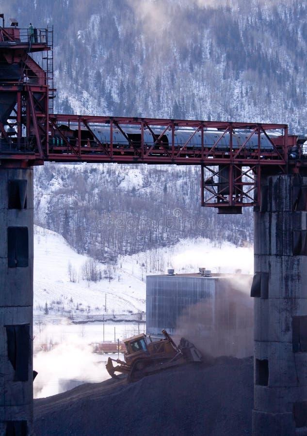 Download Coal mine stock image. Image of sweet, crude, towers, alberta - 4262709