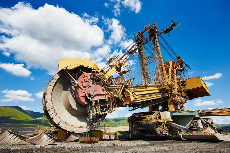 Coal mine royalty free stock photography