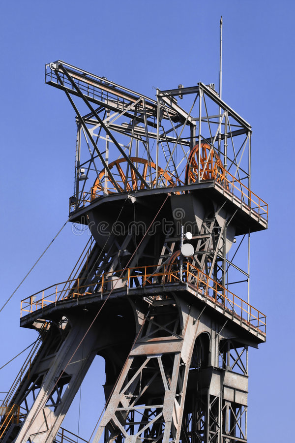 Download Coal mine shaft stock image. Image of bytom, resource - 3172725