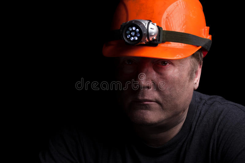 Coal miner royalty free stock photography