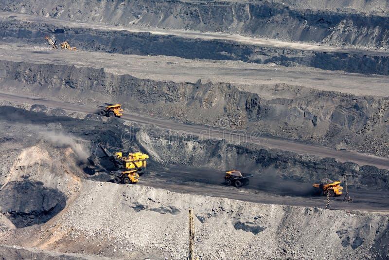 Coal mining royalty free stock image
