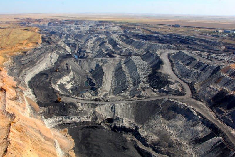 Coal mining royalty free stock photo