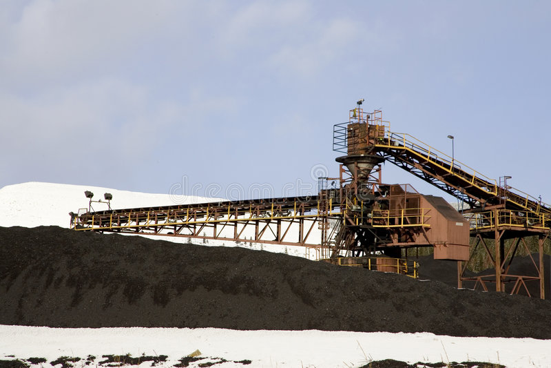 Download Coal Mining stock photo. Image of industry, handling, machine - 465000