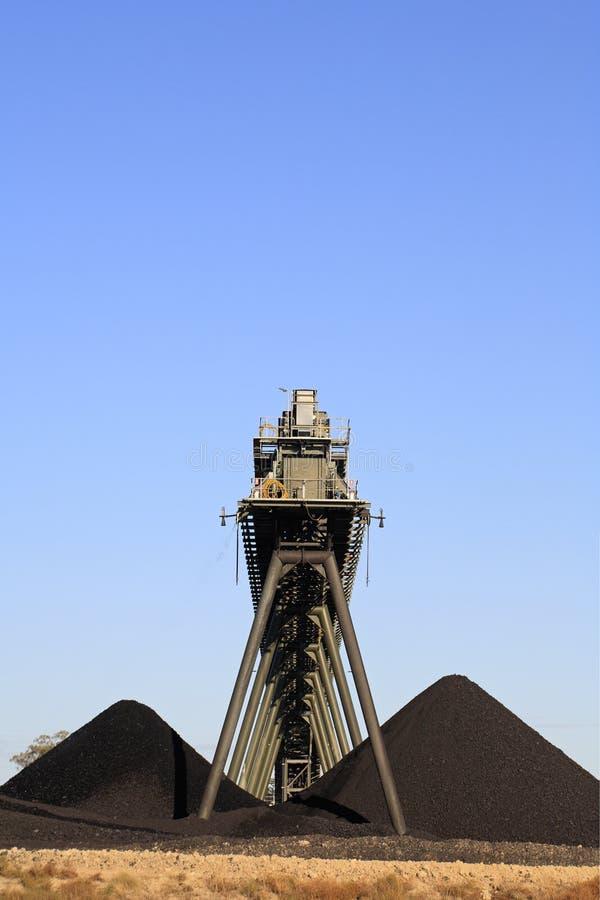 Download Coal Mining Conveyor Belt stock photo. Image of mining - 28414908