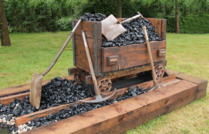 Coal Mining. stock photography