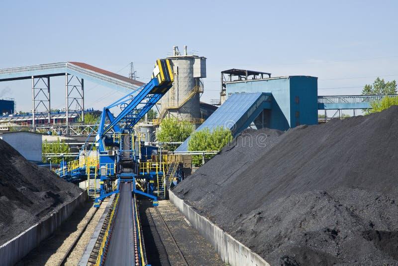 Coal mining stock images