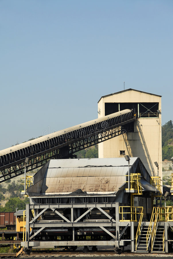 Free Coal Mining Tipple Royalty Free Stock Photos - 6089778