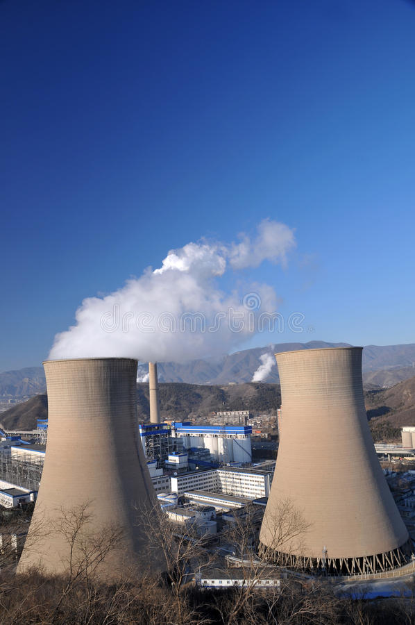 Download Coal Power Plant Royalty Free Stock Image - Image: 23023486