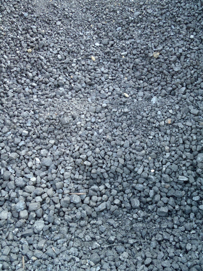 Coal for powering a train