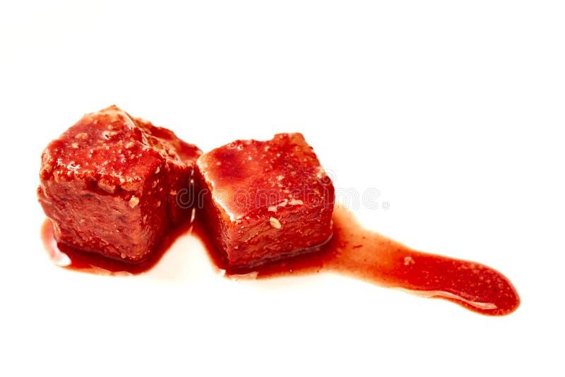 Coalho de feijão fermentado chinês imagens de stock
