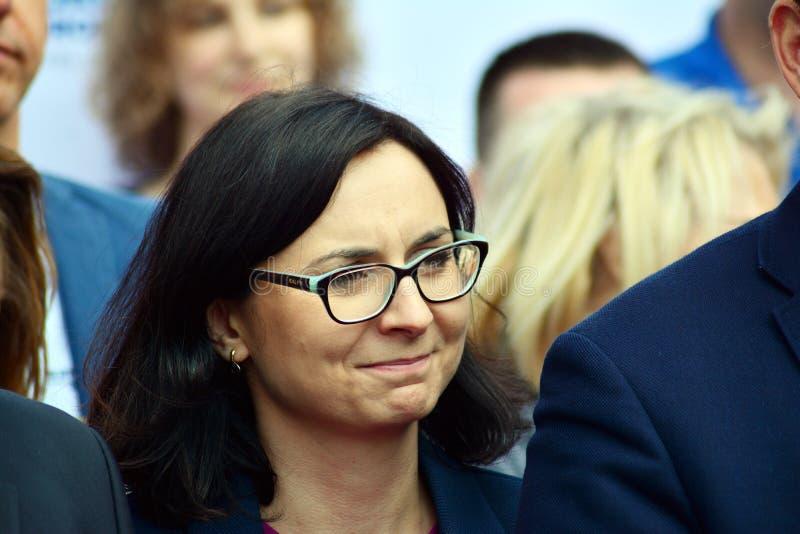 Coalizione europea dei leader dell'opposizione immagine stock