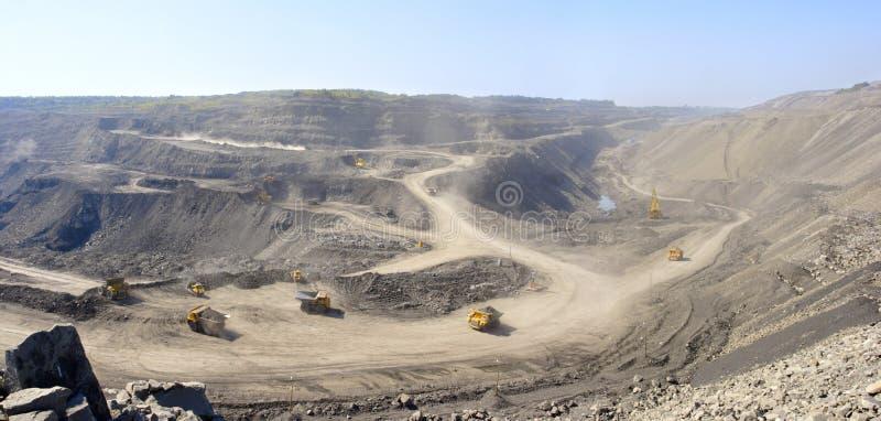 Coalmining zdjęcie stock