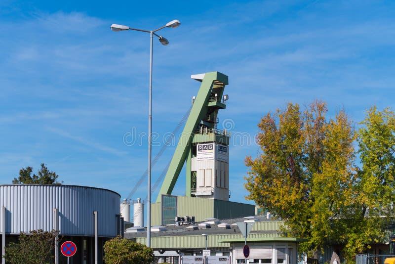 Coalmining w Niemcy fotografia royalty free