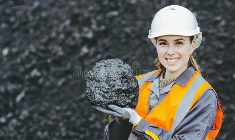 Coalminingarbetare fotografering för bildbyråer