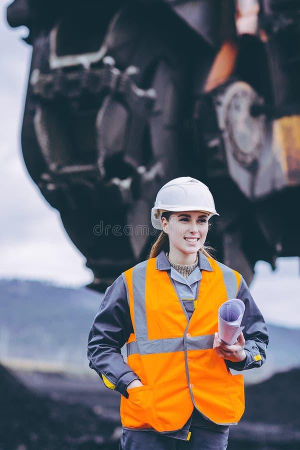 Coalminingarbetare royaltyfri foto