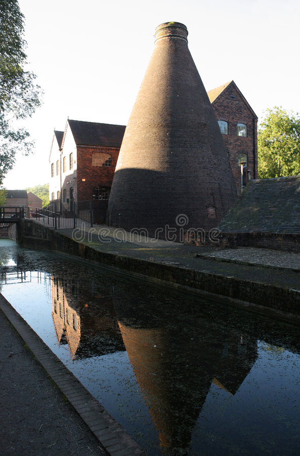 Download Coalport China Pottery Kiln Stock Photo - Image: 5790376