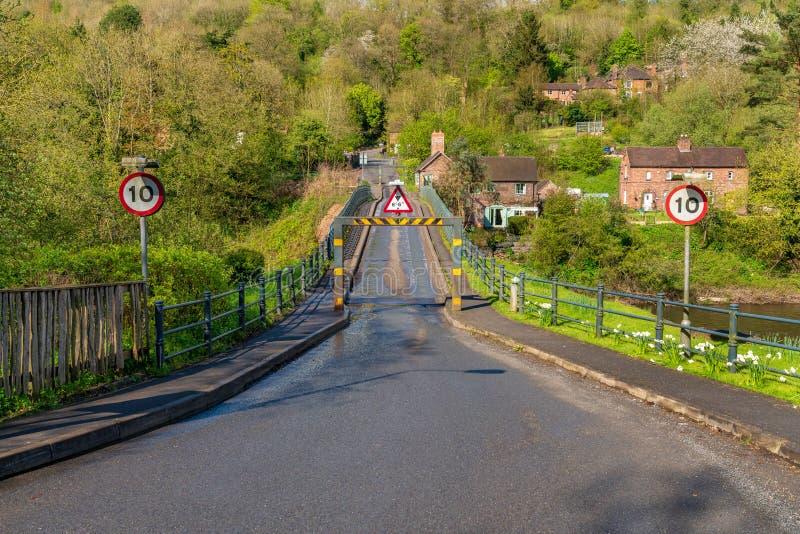 Coalport, Shropshire, Inglaterra, Reino Unido imagenes de archivo