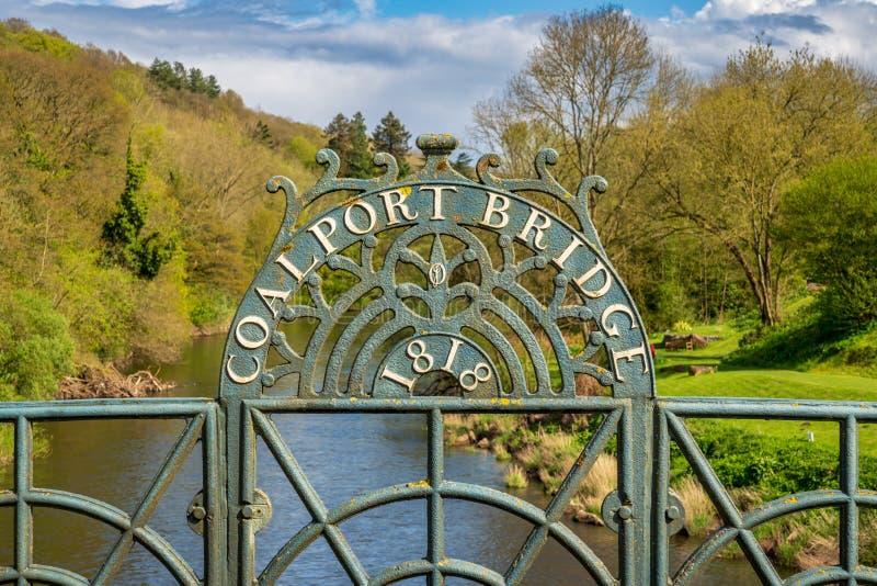 Coalport, Shropshire, Inglaterra, Reino Unido fotografía de archivo