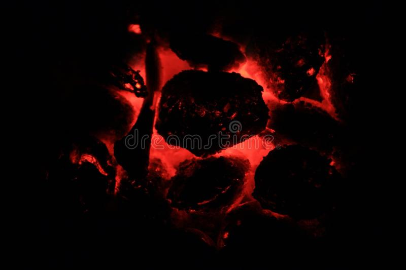 Coals stock photo