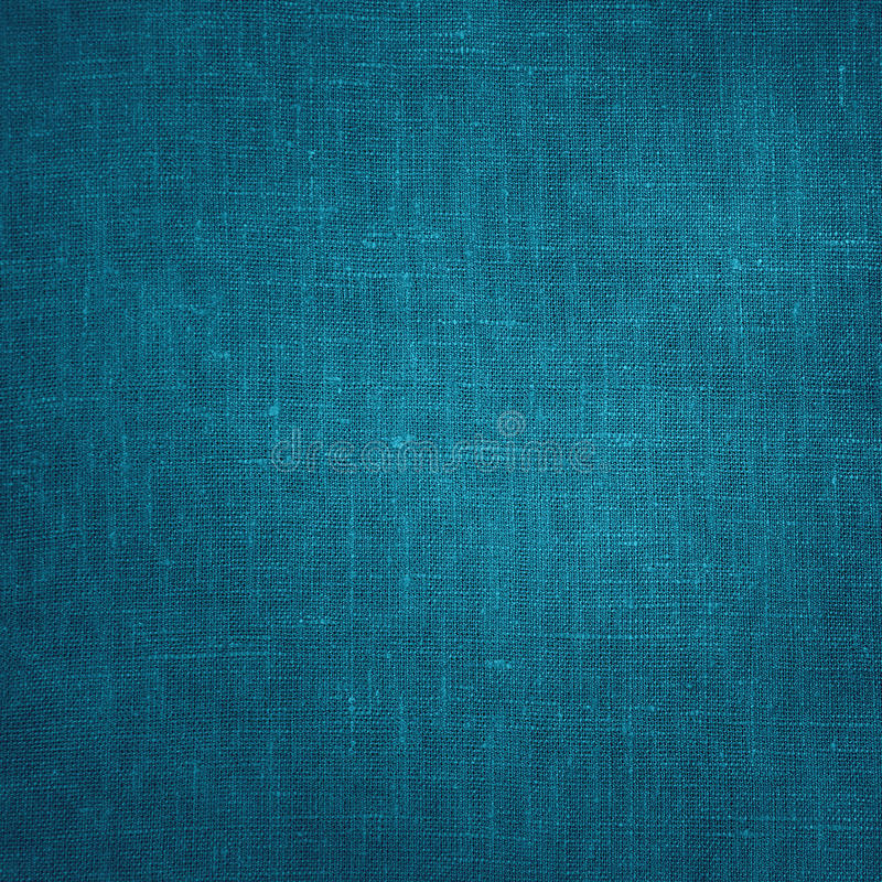 Coarse Blue Canvas texture background stock photography