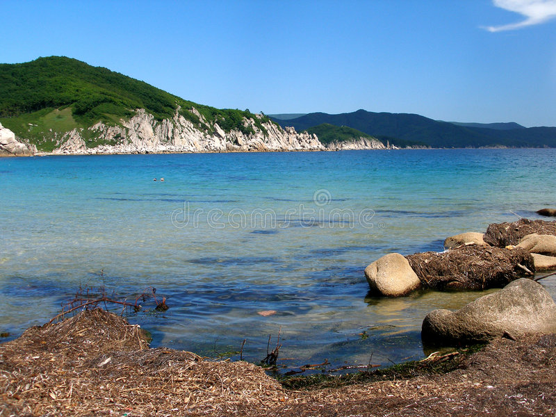 Download The coast stock photo. Image of bank, creek, offing, crags - 1396750