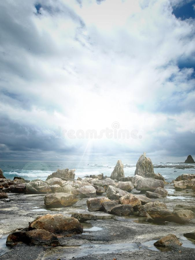 Download Coast stock photo. Image of scenery, stone, grungy, bright - 22059614