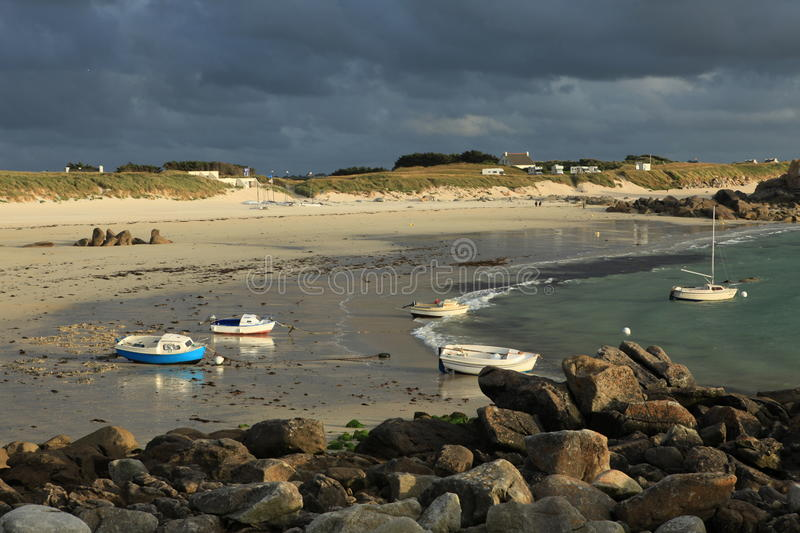 Coast Of Brittany Royalty Free Stock Photography