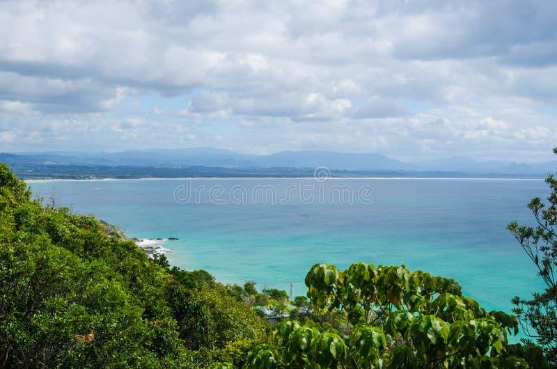 Coast, Byron Bay, NSW, Australia. Byron Bay on a windy day stock image
