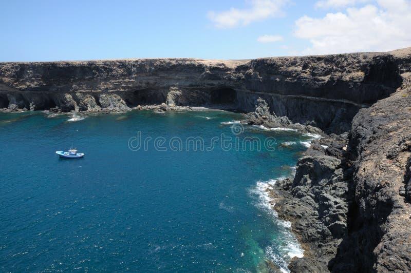 Coast of Canary Island Fuerteventura royalty free stock photo