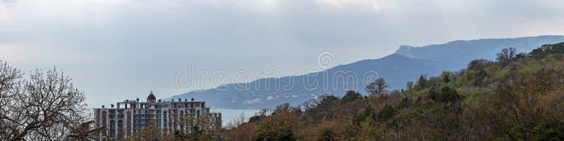 Coast of the Crimea royalty free stock image