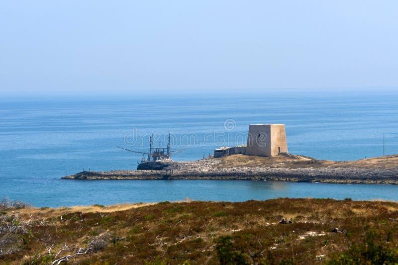 The coast of Gargano (Apulia, Italy) royalty free stock images