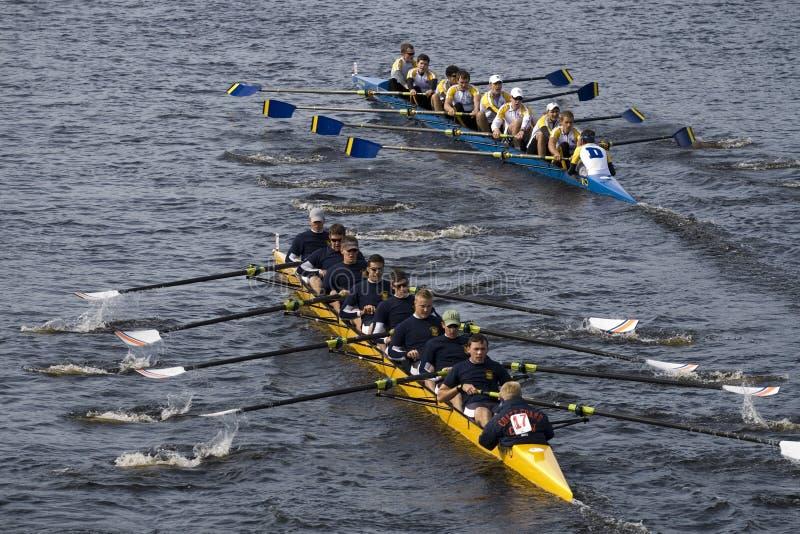 Coast Guard Academy (16) races Delaware royalty free stock image