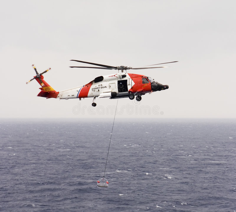 Download Coast Guard Helicopter stock image. Image of gear, rescue - 2557755