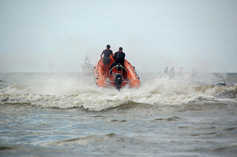 Coast Guard In Netherlands Editorial Stock Photo