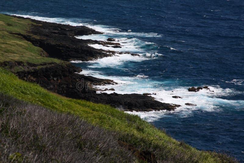 Coast Hawaii royalty free stock photos