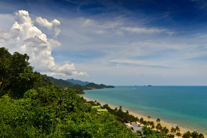 Download Coast from hill stock image. Image of holiday, ocean - 24677685