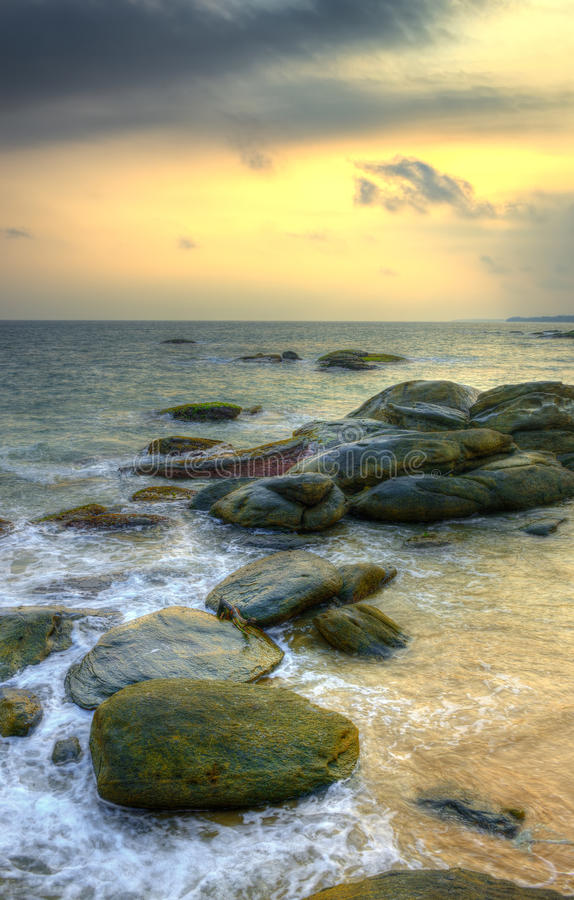 Download Coast of the Indian ocean stock image. Image of indian - 28557109