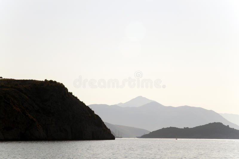Download Coast Line stock image. Image of mountain, blue, rock - 16737681
