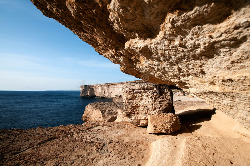 Download Coast of Malta stock photo. Image of looking, over, clear - 22410018
