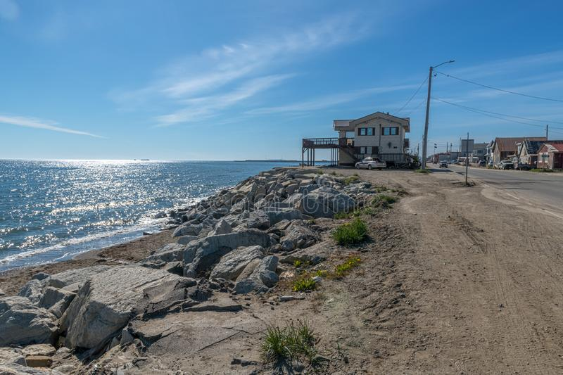 The Coast of Nome stock images