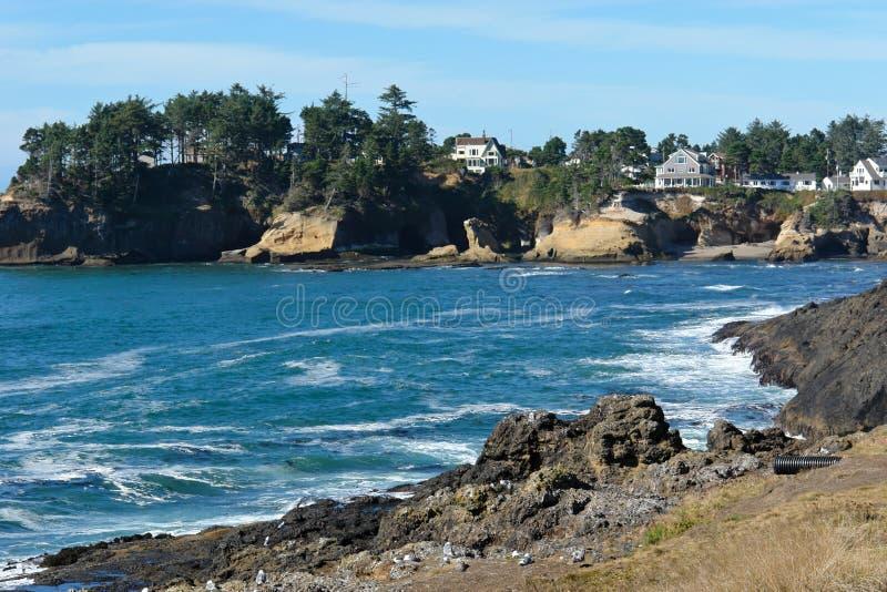 Coast Of Oregon Stock Image