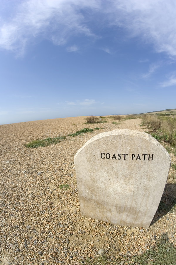 Coast path royalty free stock photos