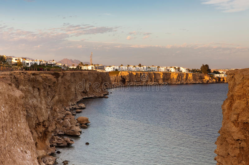 Download Coast in Sharm al-Sheikh stock image. Image of water - 12575239