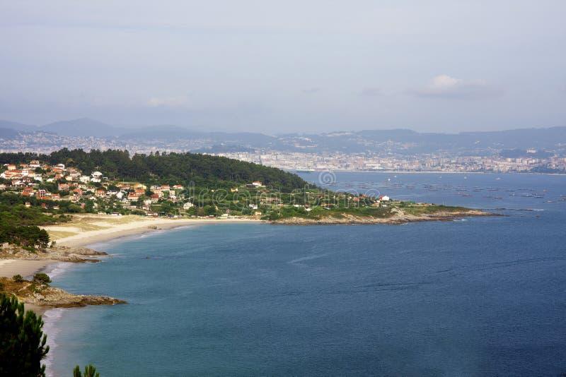 Coast of Spain stock photography